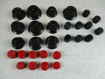 Lot Of 20 Tektronix Oscilloscope Knobs Type 500 Series