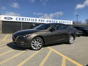 2015 Mazda 3 GT REMOTE KEYLESS ENTRY HEATED FRONT SEATS BOSE...