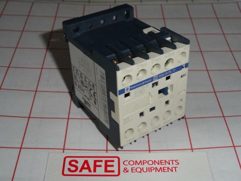 Telemecanique CA3KN22BD Relay 2NO+2NC 24V 10A Sti FGR2224 OMRON 44532-3010 L36-8