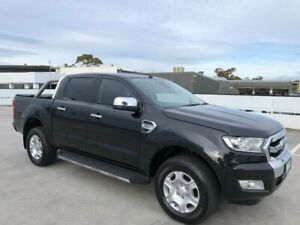 2015 Ford Ranger PX MkII XLT Double Cab Black 6 Speed Manual Utility