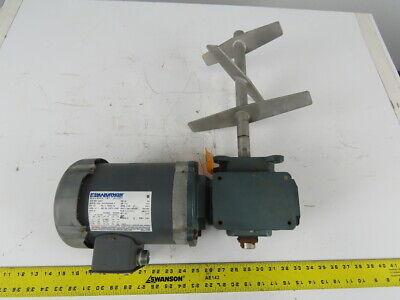 Grove Frmq218-1 Gear Motor Speed Reducer 301 W Marathon 12 Hp Electric Motor