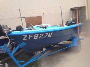 Fibreglass Runabout, 15 hp Matrix outboard  and Trailer Lemon Tree Passage Port Stephens Area Preview
