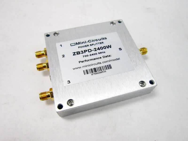 MINI-CIRCUITS ZB3PD-2400W 2400 MHZ POWER SPLITTER