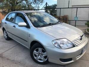 2006 Toyota Corolla Ascent ZZE122R Auto Sedan REGO AND RWC INCL