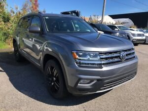 2018 Volkswagen Atlas HIGHLINE+MAGS NOIRS+SIEGE BAQUETS+4MOTION