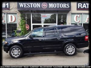 2012 Ford Expedition MAX*LIMITED*BTOOTH*LEATHER*DVD*NAVI*REVERSE