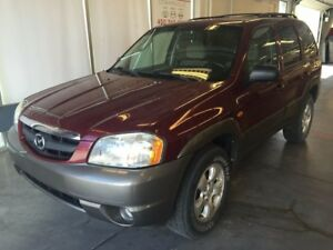 2003 Mazda Tribute SUV POUR PIÈCES SEULEMENT - FOR PARTS ONLY