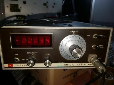 Keithley 616 Digital Electrometer With Triax Cable