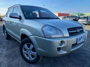 2006 Hyundai Tucson City Silver 4 Speed Auto Selectronic Wagon Hoppers Crossing Wyndham Area Preview