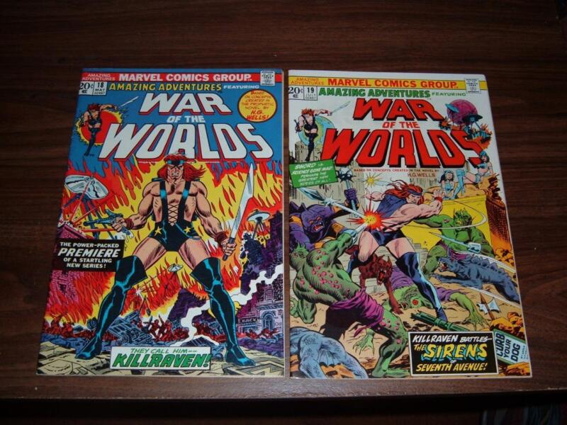 Amazing Adventures 18-39----complete run of 22 comic books