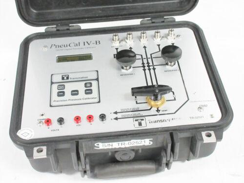 TRANSMATION PNEUCAL IV-B 24454P DIGITAL PNEUMATIC PRESSURE CALIBRATOR