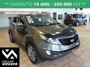2014 Kia Sportage SX**TURBO-AWD**