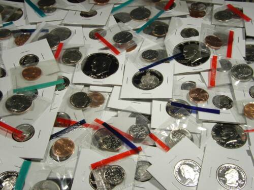 US Uncirculated and Proof Coin Mixed Lot Collection w/ Bonus Coins