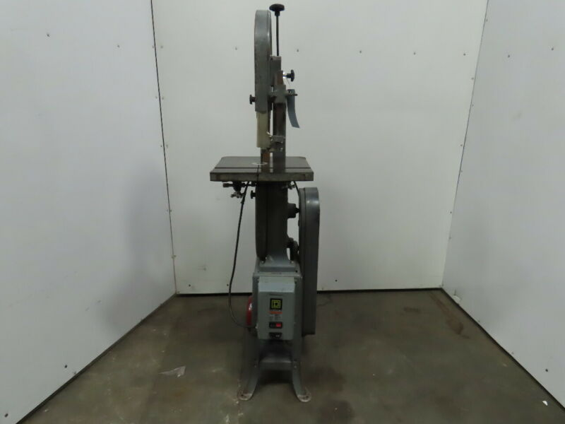 "Rockwell 28-200 14"" 1Hp 115/208-230V 1Ph Vertical Wood Band Saw With Tilt Table"