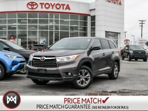 2015 Toyota Highlander LE: HEATED SEATS, BACK UP CAM BLUETOOTH T