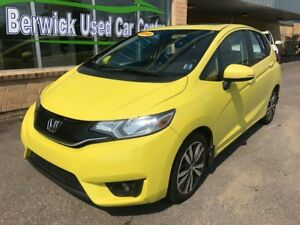 2015 Honda Fit EX-L Leather! Sunroof!