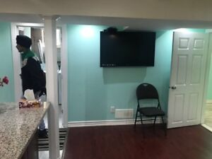 Shared basement for rent available for 5 sep