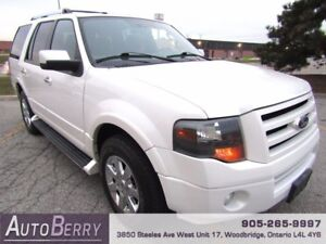 2009 Ford Expedition Limited 4WD **CERTIFIED ACCIDENT FREE**