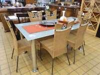 Esstisch Glastisch Stühle Nordrhein-Westfalen - Viersen Vorschau