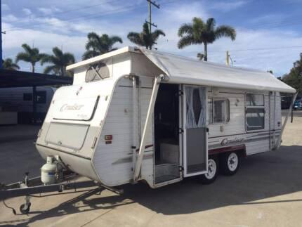 Regent pop top double bed caravan 18FT Clontarf Redcliffe Area Preview