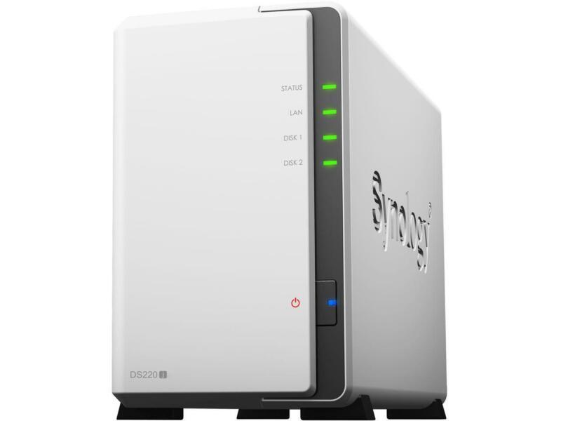 Synology DS220j Diskless System Network Storage