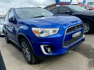 2016 Mitsubishi ASX XB MY15.5 LS 2WD Blue 6 Speed Constant Variable Wagon West Tamworth Tamworth City Preview