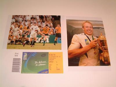 ENGLAND 2003 RUGBY WORLD CUP FINAL WINNERS JONNY WILKINSON PHOTOGRAPHS