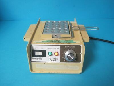 Barnstead Thermolyne 17600 Dri-bath Incubator Db17615 W Heat Block Handle