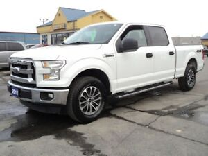 2015 Ford F-150 XLT SuperCrew 4X4 5.0L 6.5ft Box