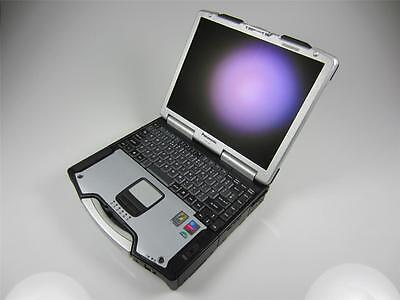 CF-29 PANASONIC TOUGHBOOK INDUSTRIAL RUGGED LAPTOP, 320GB HD, 1.25GB RAM