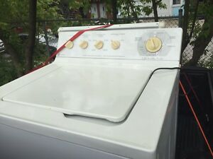 Washer dryer GE  must go 180