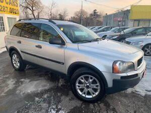 2004 Volvo XC90 7 SEATER/ AWD/ LEATHER/ SUNROOF/ ALLOYS!