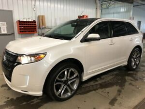2014 Ford Edge SPORT AWD CUIR NAVI TOIT PANORAMIQUE MAGS 22PO