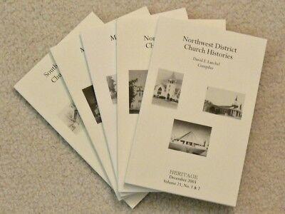 United Methodist Set (UNITED METHODIST CHURCH HISTORIES Minnesota Architecture & History 5 Volume Set)