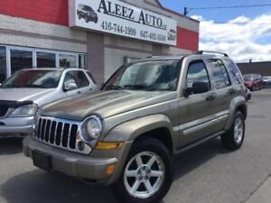 2006 Jeep Liberty Limited, Certified. 4x4 , Mint interior & exte