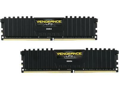 NEW CORSAIR VENGEANCE LPX Series 16GB (2 x 8GB) 288Pin DDR4 2400 Desktop Memory