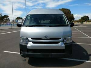 12/2014 Toyota Hiace Commuter Wheelchair Accessable Auto Silver Diesel Marion Marion Area Preview