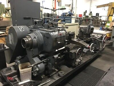 Warner Swasey 3-a Model M-1950 Lever Head Saddle Type Turret Lathe