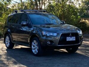 2010 Mitsubishi Outlander ZH MY10 LS Bronze 6 Speed Constant Variable Wagon Ringwood Maroondah Area Preview