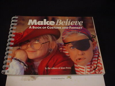 BOOK OF COSTUMES Easy how to HOMEMADE FUN HALLOWEEN FANTASY hc spiral DIY