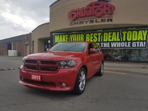 2011 Dodge Durango Heat P-ROOF, REAR CAMERA, ALPINE SOUND 20 INC