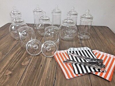 10 x Mixed Spooky Sweet Jars Package Candy/Cart Buffet Halloween Trick or Treat
