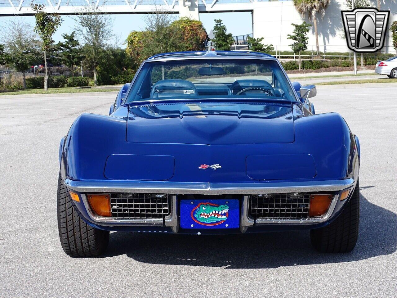 1972 Blue Chevrolet Corvette Stingray  | C3 Corvette Photo 4