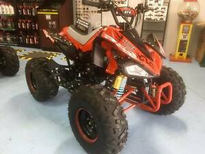 ***RED NEW MODEL*** SPIDER 125cc Quad Bike 2 YEAR WARRANTY!! Canning Vale Canning Area Preview