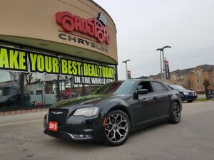 "2015 Chrysler 300 300S PANO ROOF 20"" WHEELS"