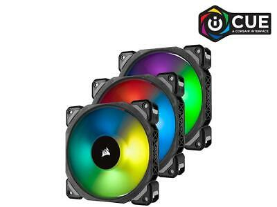 CORSAIR ML120PRO,120mm Magnetic Levitation RGB LED PWM Fan,3