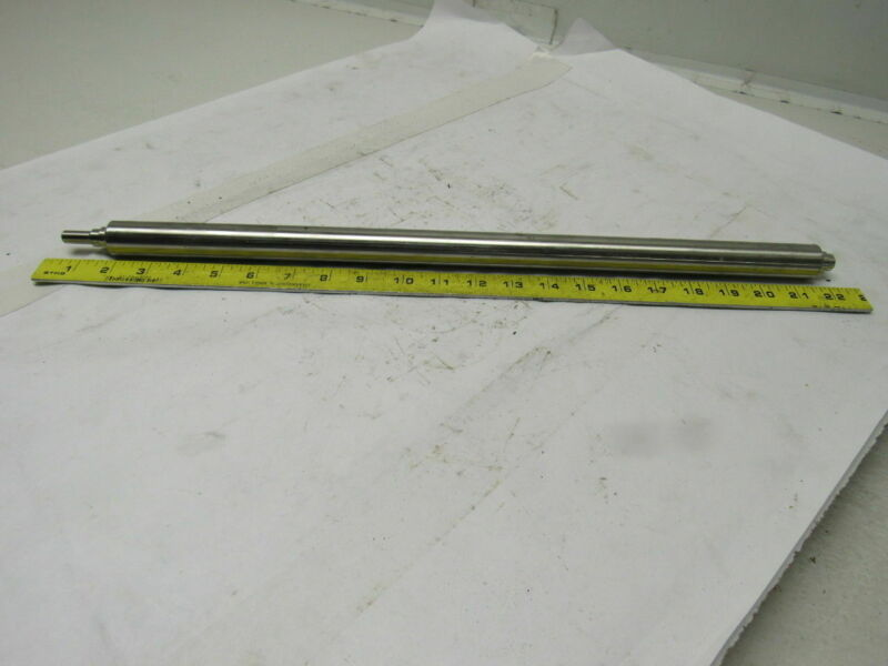 """ThermoFisher Scientific 203533 Stainless Steel 20"""" x 1"""" OD Conveyor  Roller"""