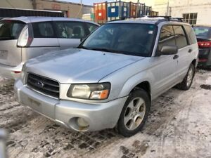 2003 Subaru Forester MANUAL!!! VEHICLE SOLD AS-IS!!! INQUIRE TOD