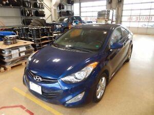 2013 Hyundai Elantra Coupe GLS As traded