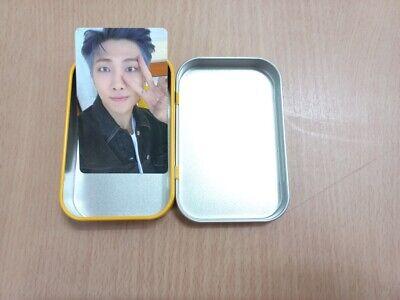 BTS Butter OFFICIAL Weverse Pre-Order Benefit Cream Case + RM Photocard Set